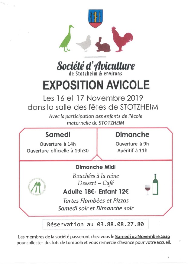 exposition aviculture